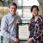 Jingjing 2012-2013 Analytical 502 award